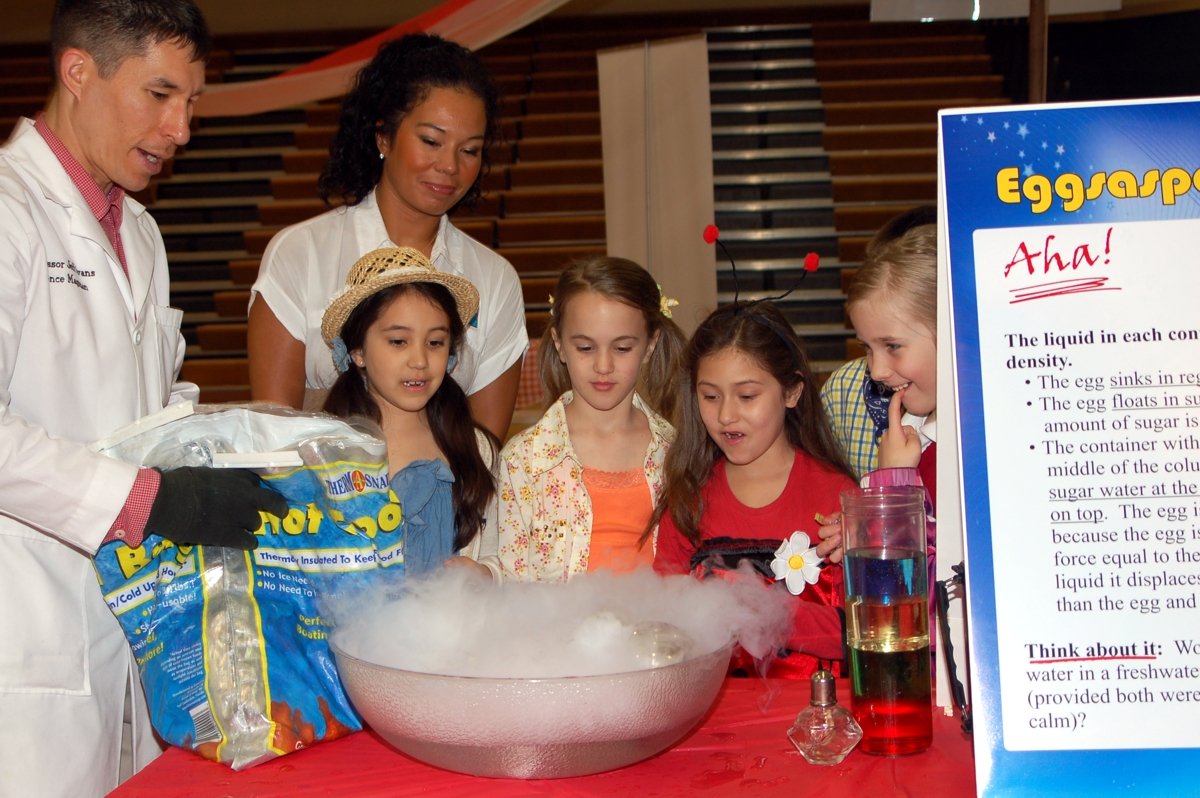 Science Magic Workshop for Life Christian Academy in Tacoma