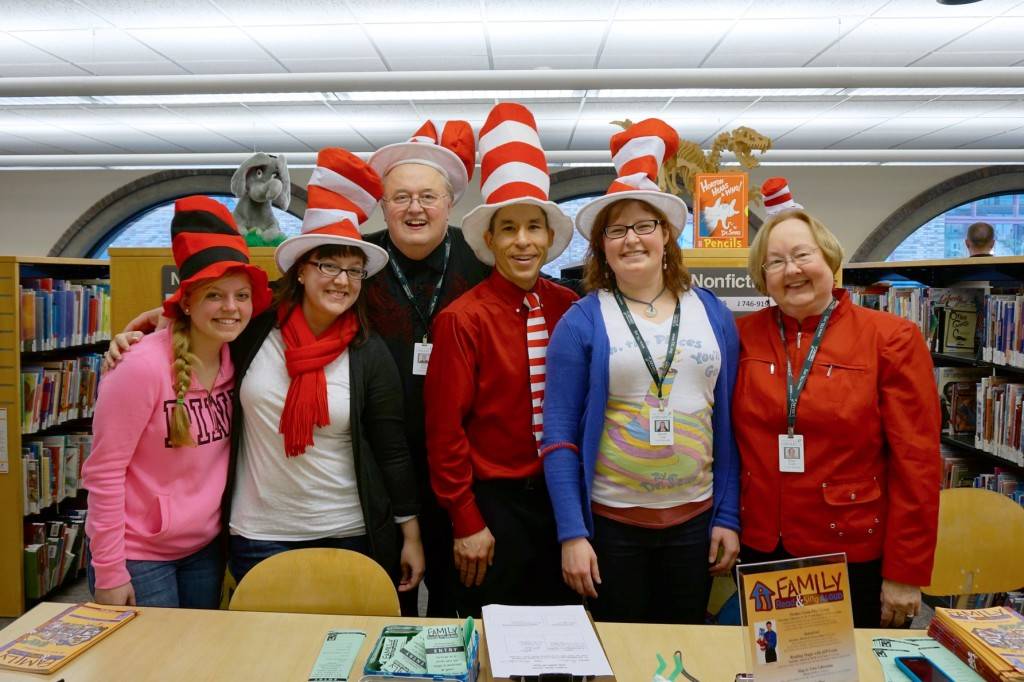 """""""Seussfest"""" with Youth Services Librarians at the Aberdeen Timberland Library"""