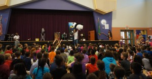 Thompson Elementary - giant panda