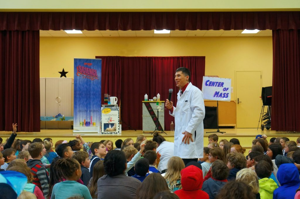 Seattle science assembly with Jeff Evans