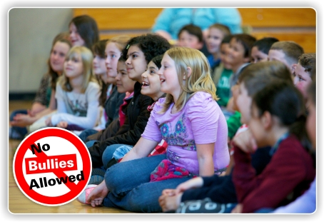 Bully prevention assembly