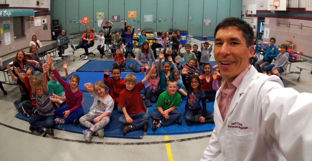 Science Magic for Rock Creek Elementary in Maple Valley