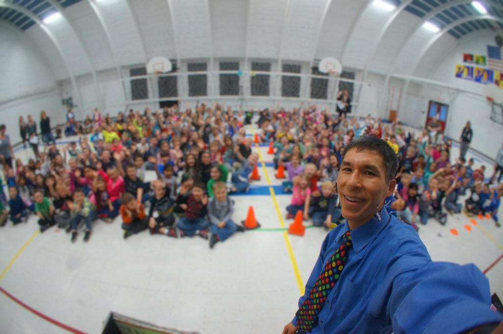 """""""No Bullies Allowed"""" with Jeff Evans at Dilley Elementary"""