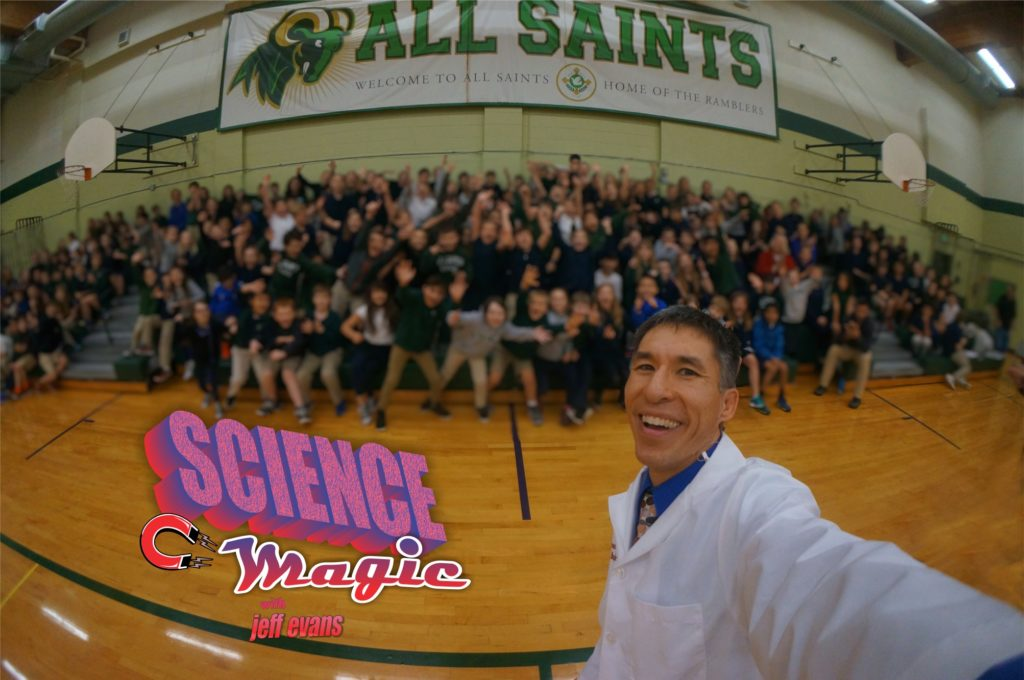 """""""Science Magic"""" Portland science assembly is a hit at the All Saints School"""